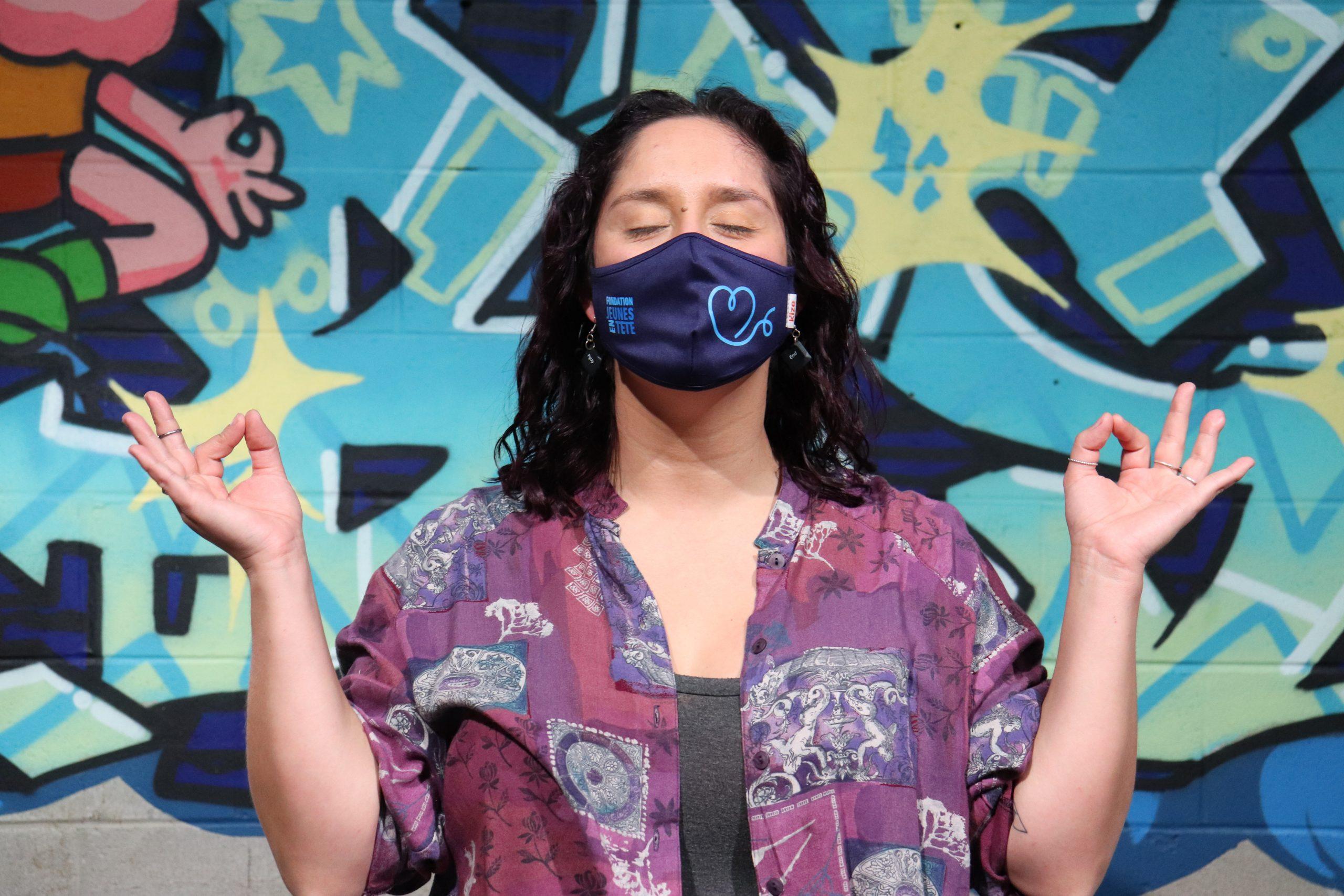 Boutique éphémère - Vente de masques au profit de la santé mentale