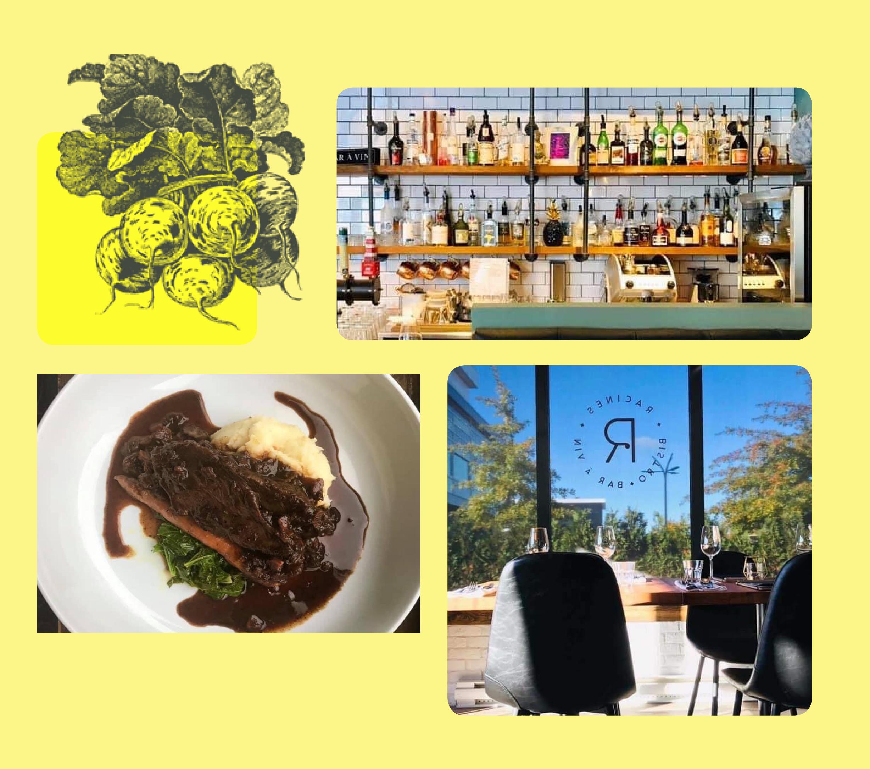 JUSQU'AU 31 OCTOBRE 2021 : Racines Bistro Bar À Vin