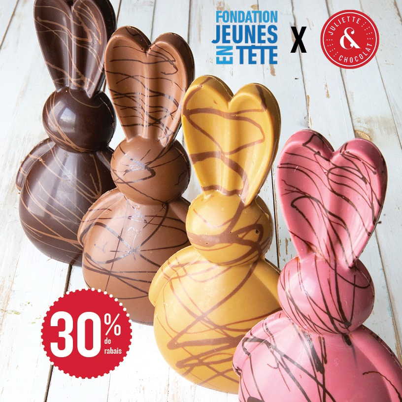 Juliette et Chocolat - Pâques 2021